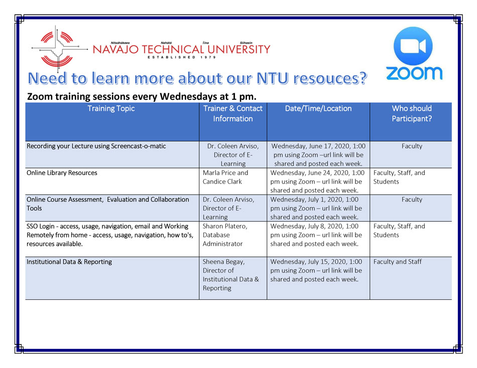 NTU 2020 Training Flyer 06 16 20 Page 1
